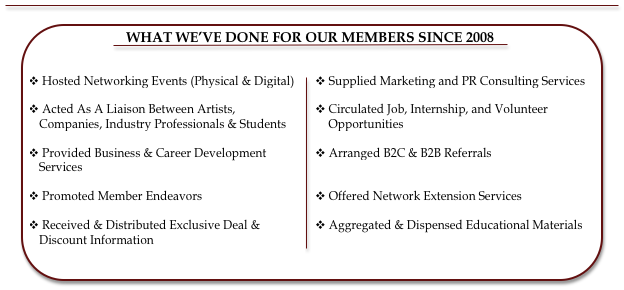 What The Music Business Network's Done For Our Members